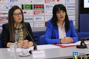 Milena Mišić-Filipović, potpredsednica festivala i Vesna Bratić, umetnička direktorka