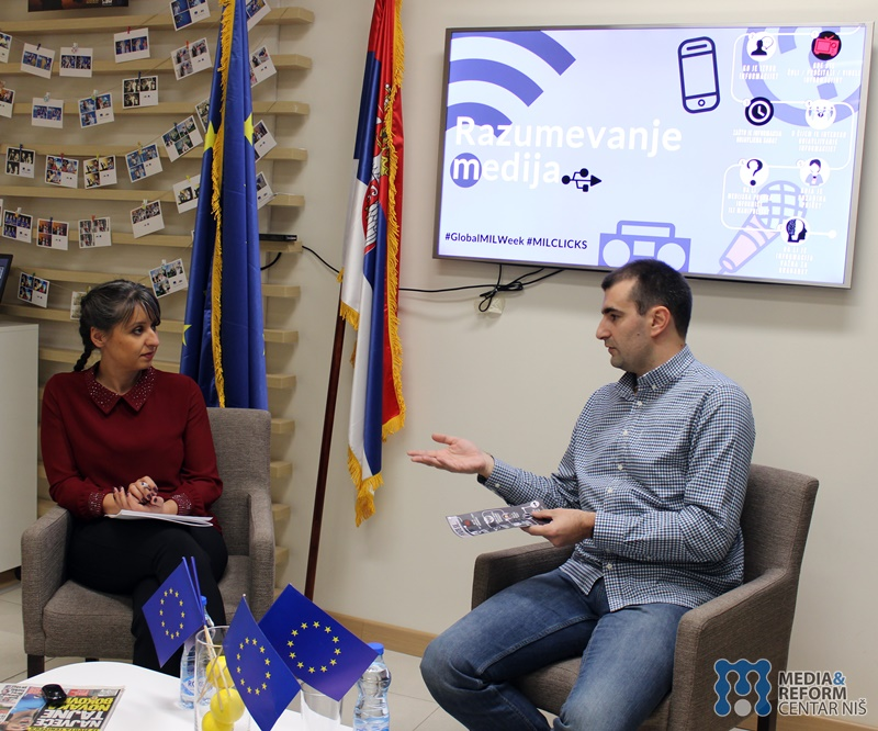 Marija Marinković and Neven Obradović, Understanding the media