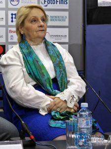 """Ljiljana Radovanović Tošić, psihološkinja u OŠ """"Radoje Domanović""""; foto: MRCN/ N.S."""