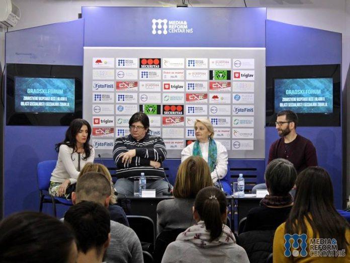 Ivana Vračkić, specijalni pedagog, Sekretarijat za omladinu i sport, Dr Vladan Radivojević, neuropsihijatar, Ljiljana Radovanović Tošić, psihološkinja u OŠ