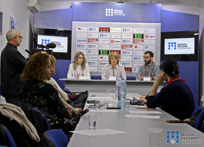 Natalija Jovanović, Jazas, Biljana Kocić, Savetovalište za DPST IZJZ Niš, Čedomir Šagrić, Centar za promociju zdravlja IZJZ Niš foto: MRCN/ N.S.