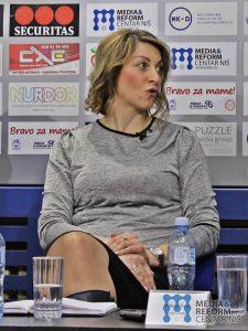 prof. dr Marija Radosavljević, Ekonomski fakultet Niš; foto: MRCN/ N.S.